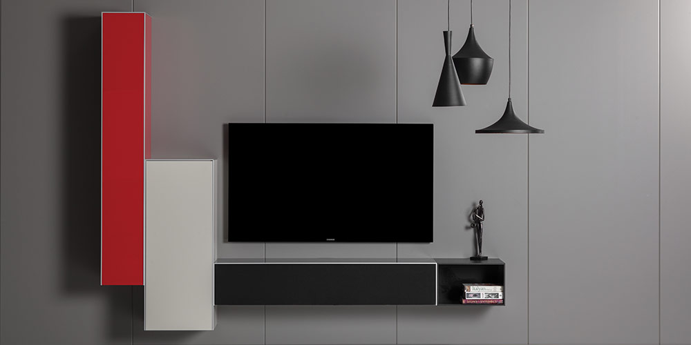 Hangende Tv Kast.Zwevend Tv Meubel Of Staand Tv Meubel Design Tv Meubels